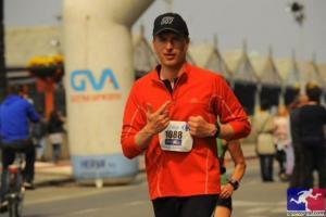 Peter Van Maele Antwerp Marathon 2011